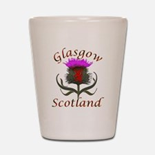 Glasgow Scotland thistle Shot Glass