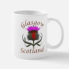 Glasgow Scotland Thistle Mugs