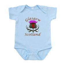 Glasgow Scotland thistle Body Suit