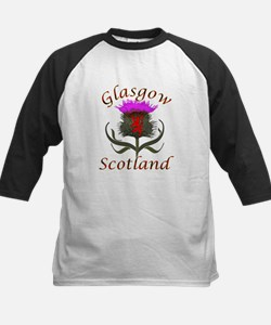 Glasgow Scotland thistle Baseball Jersey