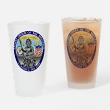 CV-61 Shellback Drinking Glass