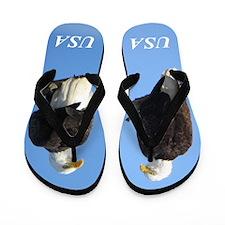 Bald Eagle Flip Flops