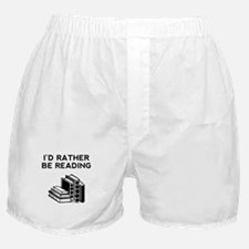 Id Rather Be Reading Boxer Shorts