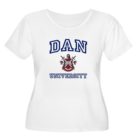DAN University Women's Plus Size Scoop Neck T-Shir