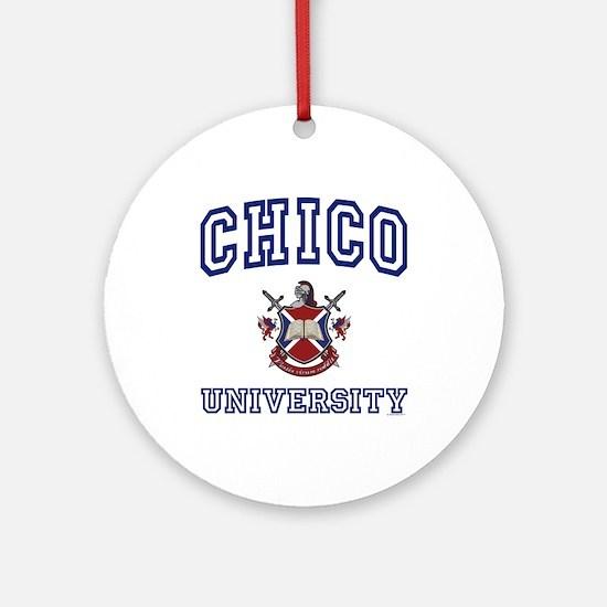 CHICO University Ornament (Round)
