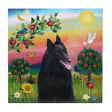 Bright Country & Belgian Shepherd Tile