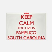 Keep calm you live in Pamplico South Carol Magnets