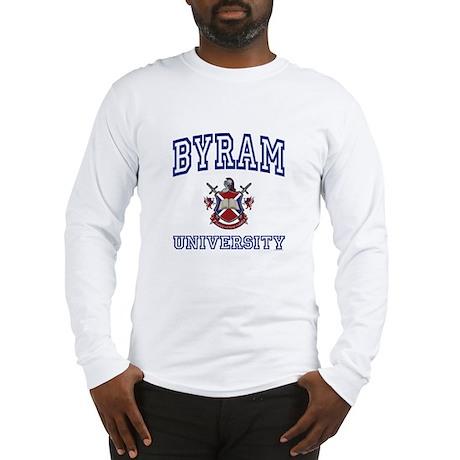 BYRAM University Long Sleeve T-Shirt
