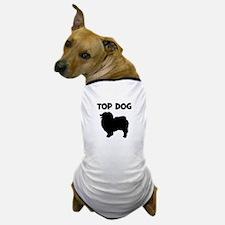 Keeshond - top dog Dog T-Shirt