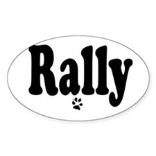 Cute Rally obedience Decal