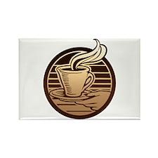 Coffee Mug Rectangle Magnet