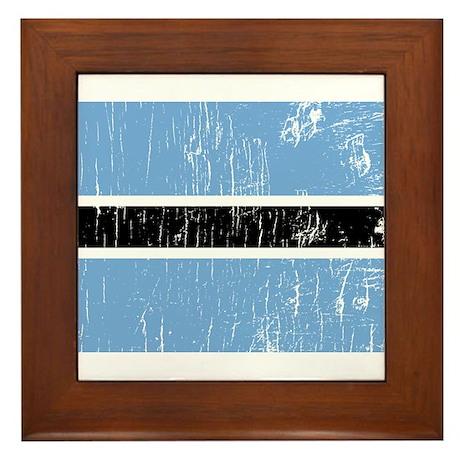 Vintage Botswana Framed Tile