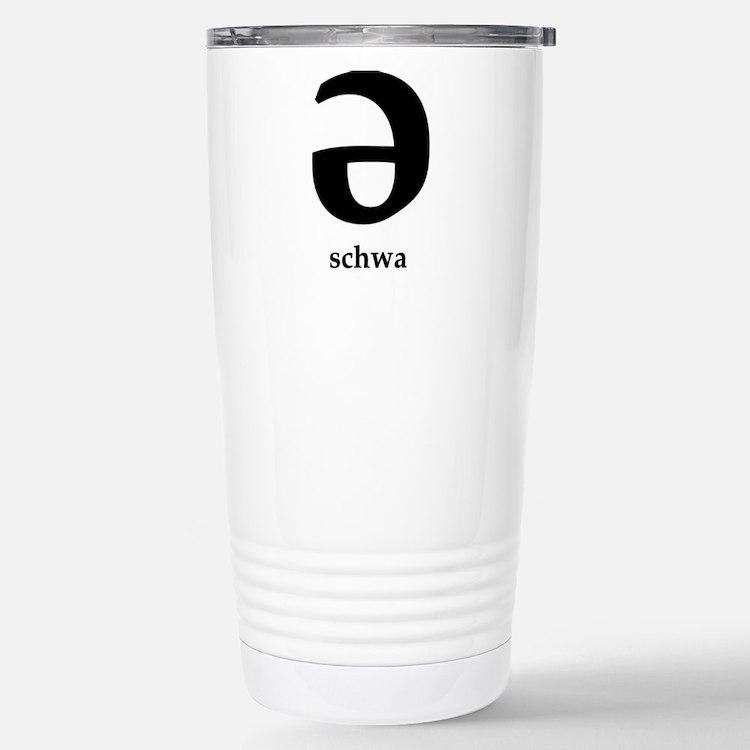 Cute Pronunciation Travel Mug