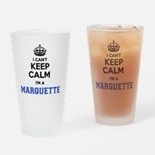 Cute Marquette Drinking Glass