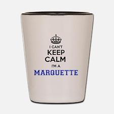 Cute Marquette Shot Glass