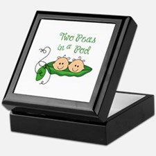 Peas In A Pod Keepsake Box