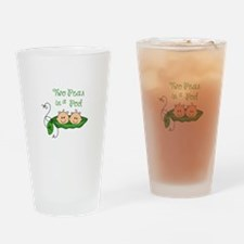 Peas In A Pod Drinking Glass