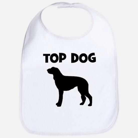 Scottish Deerhound - top dog Bib