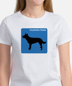 Australian Kelpie (clean blue Women's T-Shirt