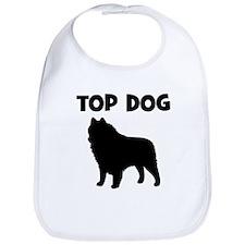 Schipperke - top dog Bib