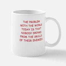 skulls of enemies Mugs
