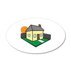 HOUSE PROPERTY Wall Decal