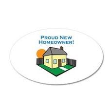 NEW HOMEOWNER Wall Decal