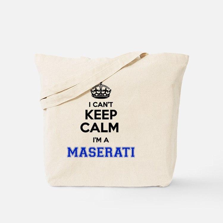Cute Maserati Tote Bag