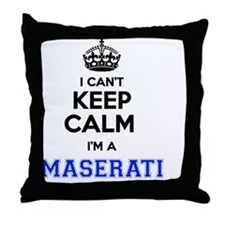 Cute Maserati Throw Pillow