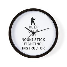 Cool Hybrid martial arts Wall Clock