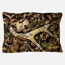 camouflage deer antler Pillow Case