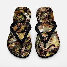 camouflage deer antler Flip Flops