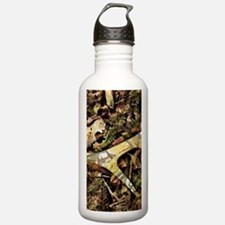 Rustic camouflage Water Bottle