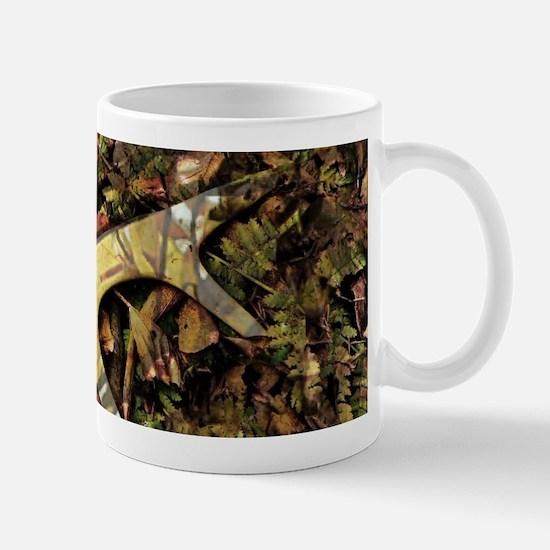 Rustic camouflage Mugs