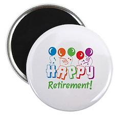 HAPPY RETIREMENT Magnets