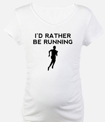 Id Rather Be Running Shirt