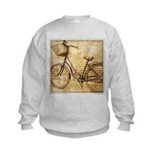 vintage Bicycle retro art Sweatshirt