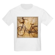 vintage Bicycle retro art T-Shirt