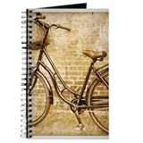 Bikes vintage Journals & Spiral Notebooks