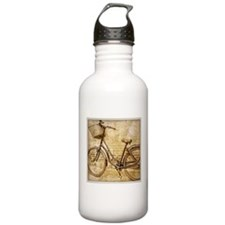 vintage Bicycle retro Water Bottle
