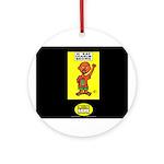 H Rap Charlie Brown Ornament (Round)