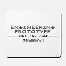 Prototype Rev. B Mousepad