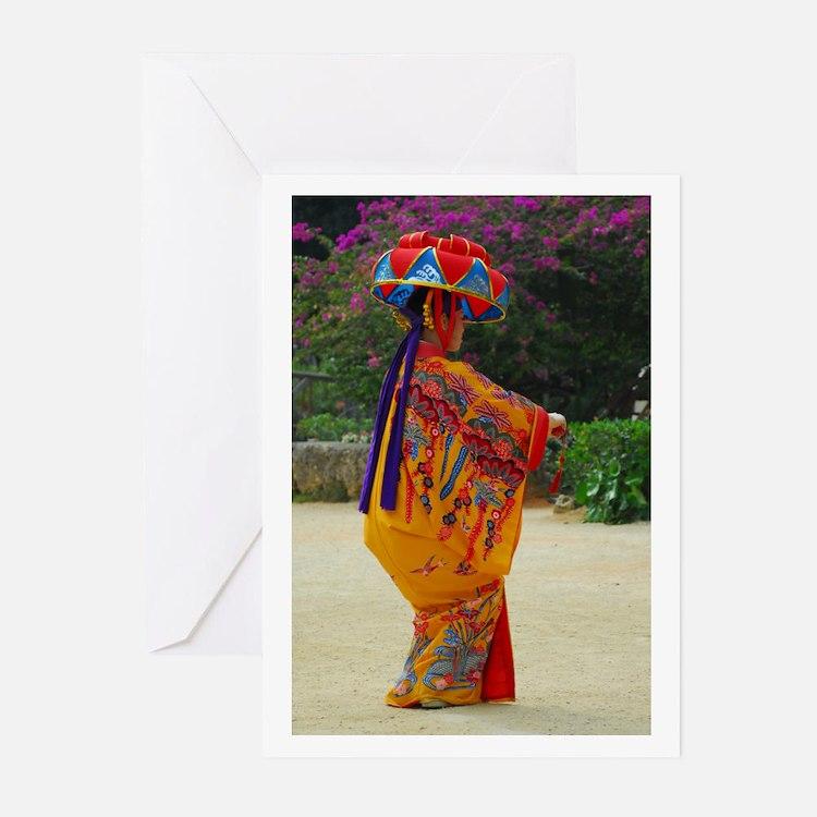 Okinawan Dancer Greeting Cards (Pk of 10)