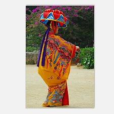 Okinawan Dancer Postcards (Package of 8)
