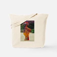 Okinawan Dancer Tote Bag