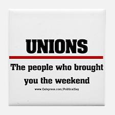 Union Weekend Tile Coaster