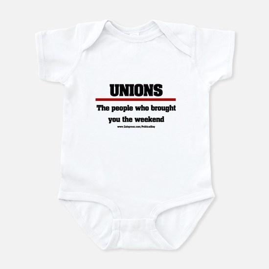 Union Weekend Infant Bodysuit