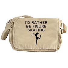 Id Rather Be Figure Skating Messenger Bag