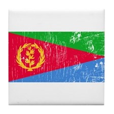Vintage Eritrea Tile Coaster