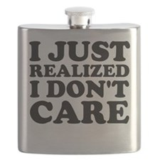 I Don't Care Flask